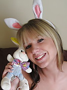 GND Cali : Cali wants to wish you a happy easter in her little bunny outfit