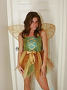 Blueyed Cass : Dressed up as a Fairy!