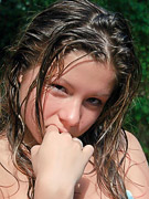 Emily 18 : Hot emily getting wet and wild