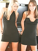 Annabelle Angel : Black Dresses with Anna Angel