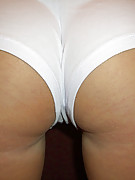 Hayden Heart : Hayden looking cute and sexy in her white booty shorts and shaved pussy