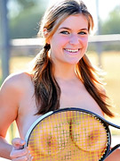Danielle FTV : Danielle plays some naked tennis