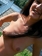 Candy Skye : Teen loves nude sunbathing