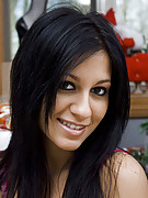 Raven Riley : Sexy Raven Riley delivering Christmas goodies
