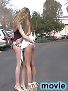FTV Girls : Ann and Amber get naughty in public