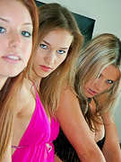 Anna Angel : Triple Shoot with Alice and Eva (NN)