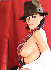 Veronica Vanoza is the sexiest gangster  who is dangerous and sexy at the same time.