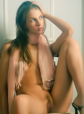 Vika Ac takes her slutty black dress off and shows us her fantastic tight body.