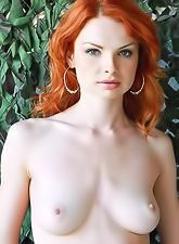 Natalia A takes her clothes off in front of the camera and shows us her round jugs.