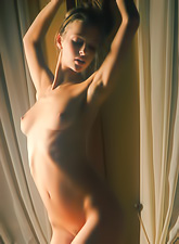 Vika Ac takes her classy dress in front of the camera and shows her amazing body.